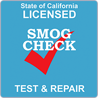 SMOG Certifed Station Check Ca
